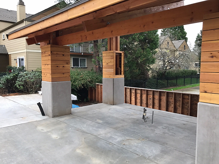 Springs Resort Before Installation - Sunset Outdoor Living