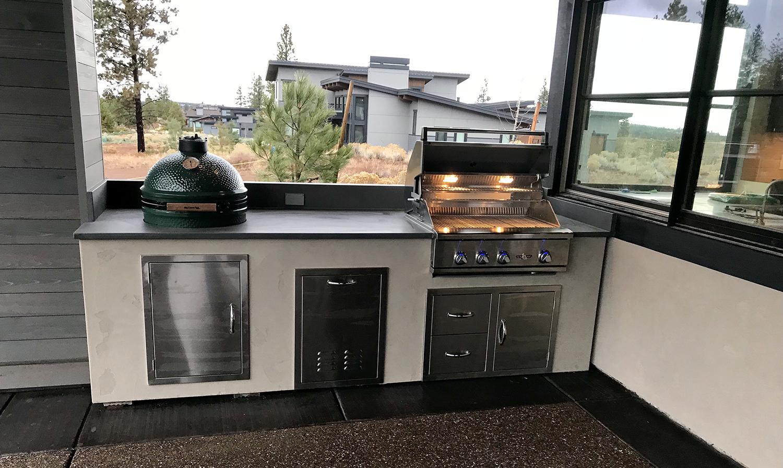 Bend Oregon Outdoor Kitchen | Sunset Outdoor Living