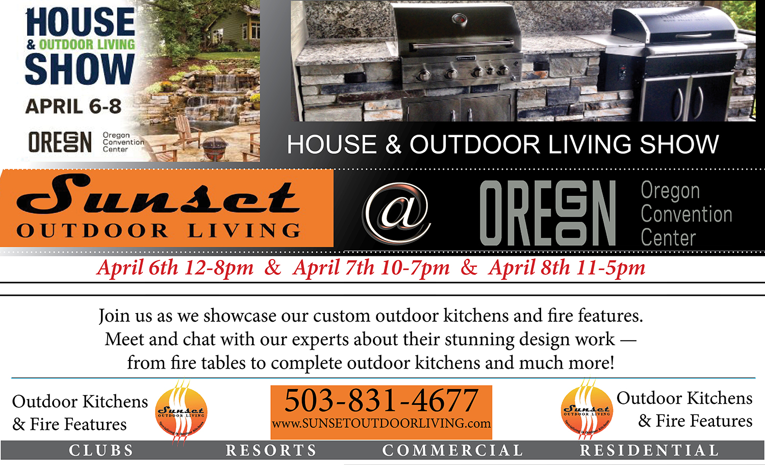 2018 House and Outdoor Living Show Flyer