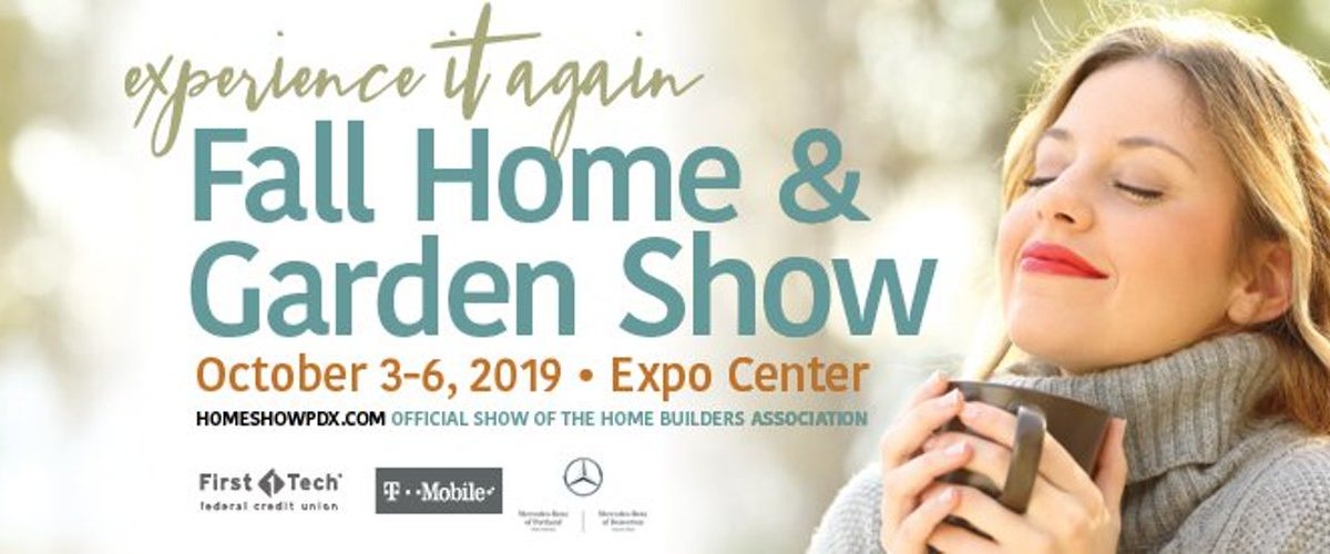 women breathing in fresh air while holding a mug | experience it again fall home & garden show october 3-6, 2019 portland expo center